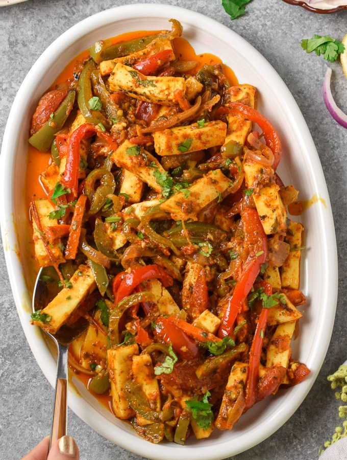 Vegetable Paneer Jalfrezi