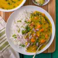 Instant Pot Carrot Dal