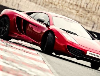 McLaren 12C Races to the Top