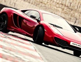 McLaren 12C Races to the Top