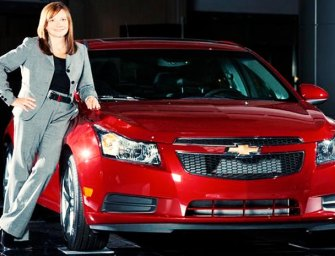 A woman as the new Chief at GM Follows the market