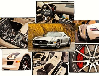 Mercedes-Benz SLS AMG GT Hits the Road