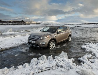 The All New Discovery Sport Tests Its Mettle In The Tough Terrain of Iceland