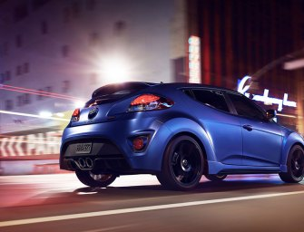Crowded Field Of Tough Little Performers Make Room For Hyundai Veloster