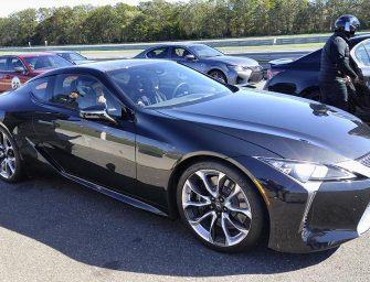 Lexus Demonstrates Its New Attitude On The Racetrack