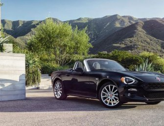 FIAT 124 Spider Leverages Tradition & Driving Fun