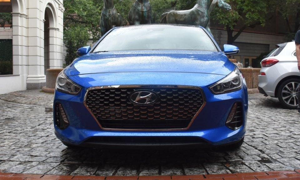 2018 Hyundai Elantra GT Sport - front grille