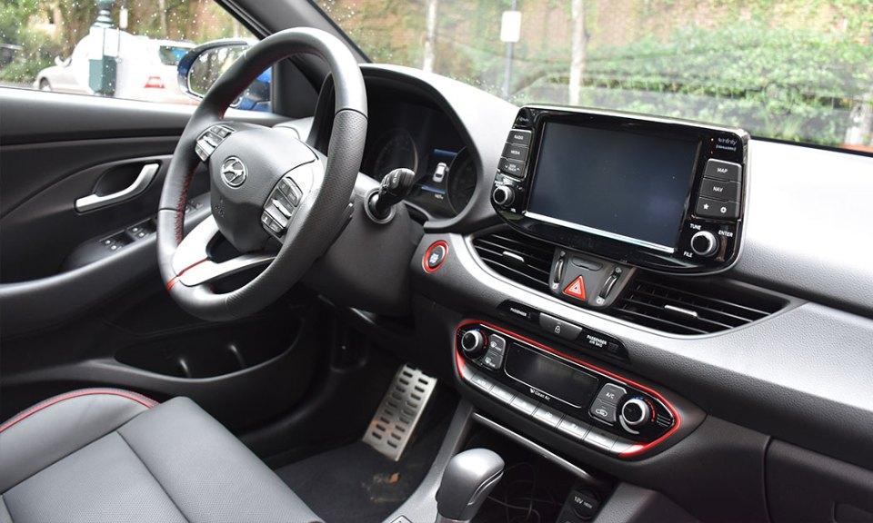2018 Hyundai Elantra GT Sport - interior