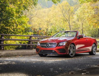 Mercedes-Benz E400 Cabriolet Lets The Good Times Roll!