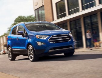 Ford EcoSport:  A Global Player US Subcompact Crossover