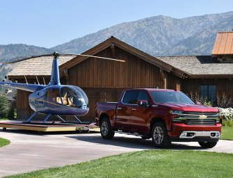 """Chevrolet Brings It's """"A"""" Game Silverado Makeover to the 2019 Pick-Up Truck Showdown"""