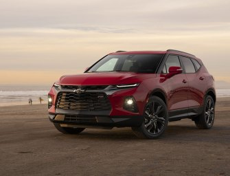 Aggressive and Sporty New Chevy Wears Blazer With Distinction