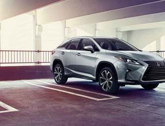 Mid-Size Crossover SUV Leader Lexus RX 450hL Takes On All Challenges