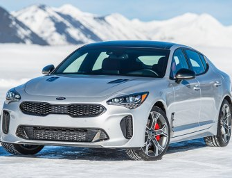 Slicked-Up KIA Stinger Exceeds Expectations for Performance