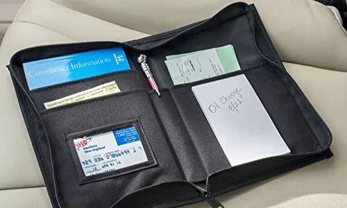 car document organizer