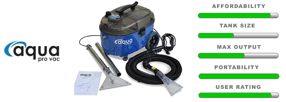 Aqua Pro vac carpet extractor review