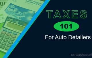 taxes 101 auto detailers mileage deductions entities