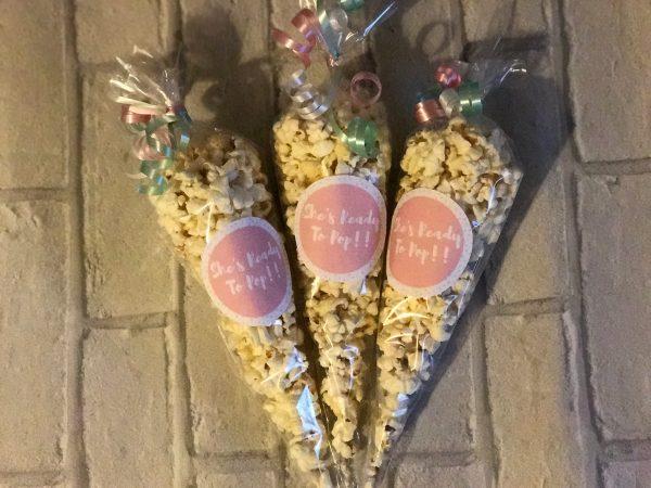 Ready to Pop Popcorn Cones