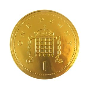 Giant Chocolate Coin