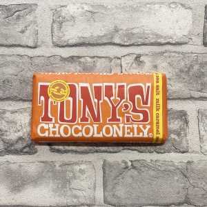 Tony's Chocolonely Milk Caramel Sea Salt 32%