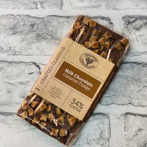 Crafted Chocolate – Milk Caramel Fudge