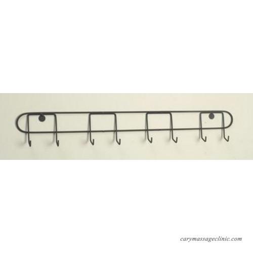 4 plate horizontal wall display hanger holder for 6 7 plates black metal 142712036425