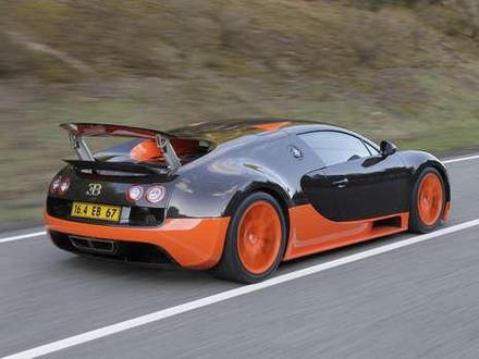 1200 hp Bugatti Veyron Super Sport