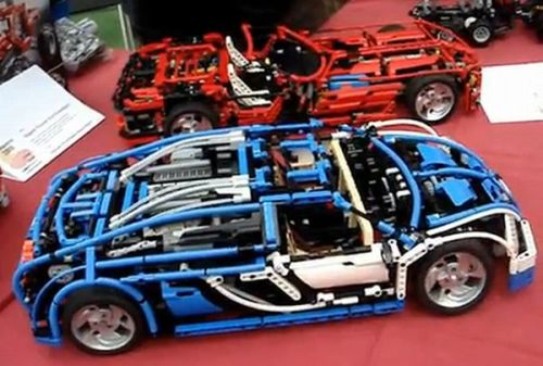 LEGO Technic Bugatti Veyron with 7+R Sequential Gearbox