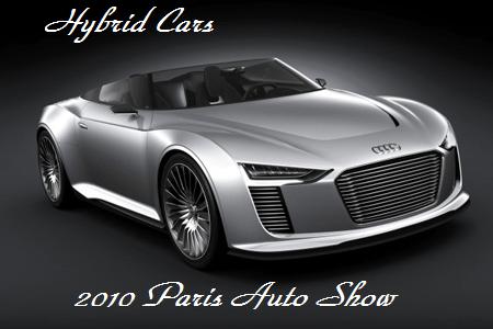 Paris Auto Show Hybrid Cars