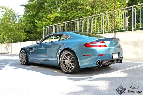 Aston Martin Vantage by Secret Entourage
