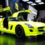 2011 Detroit Auto Show- Mercedes SLS AMG E-Cell
