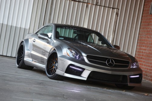 Mercedes SL65 AMG iForged by Misha Design