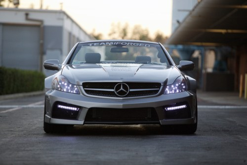 Mercedes SL65 AMG iForged by Misha Design