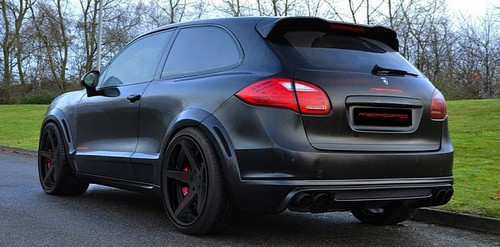 Porsche Cayenne Coupe Conversion by Merdad Tuning