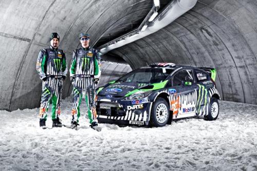 2011 Ken Block Ford Fiesta RS WRC