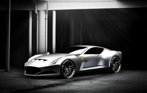 Ferrari 612 GTO Concept Grey