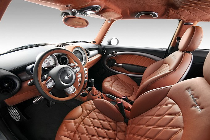 MINI Cooper S inspired by Bentley Interior