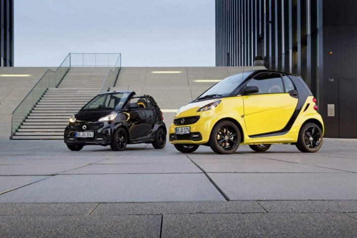 Special Edition Cityflame Smart Fortwo