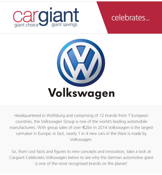Volkswagen-infographic