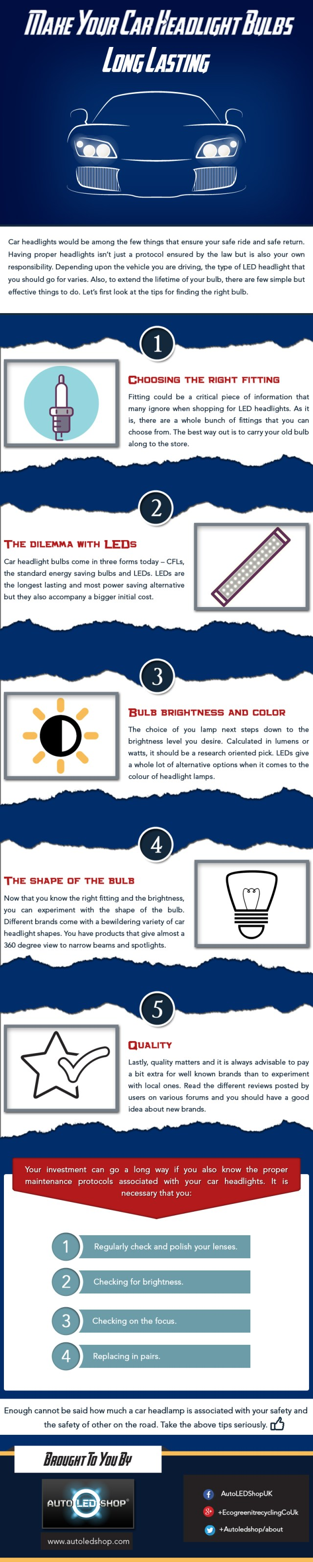 Make Your Car Headlight Bulbs Long Lasting