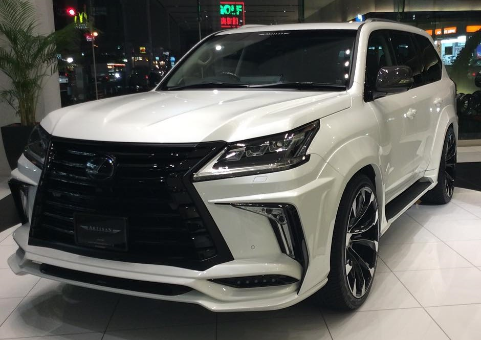2016 Lexus LX 570 With Black Label Wide Kit By Artisan