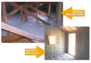 Isolation naturelle - Ouate de cellulose Casa Bio
