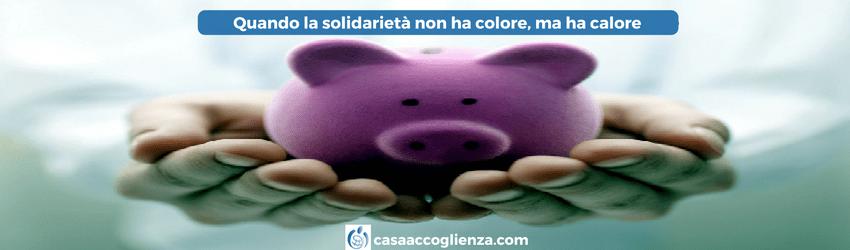 Quando la solidarietà non ha colore, ma ha calore
