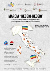 volantino_marcia Reggio-Reggio-fronte_roma
