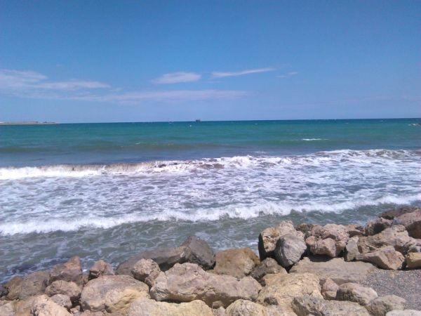 Strand bij Valencia