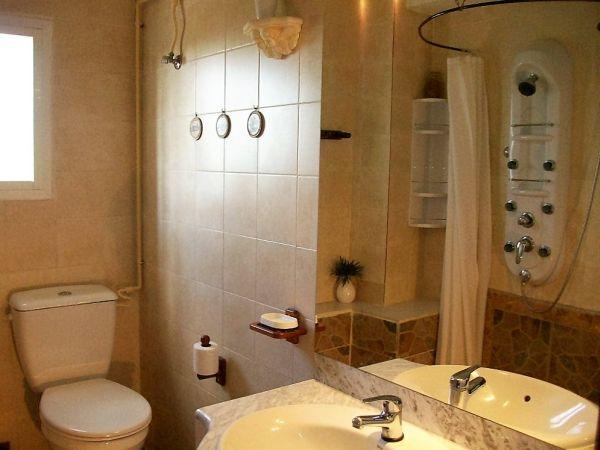De badkamer van Casa Amigo