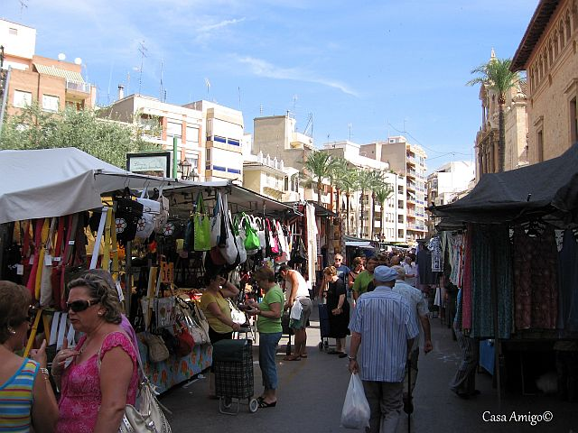 Markt in LLiria