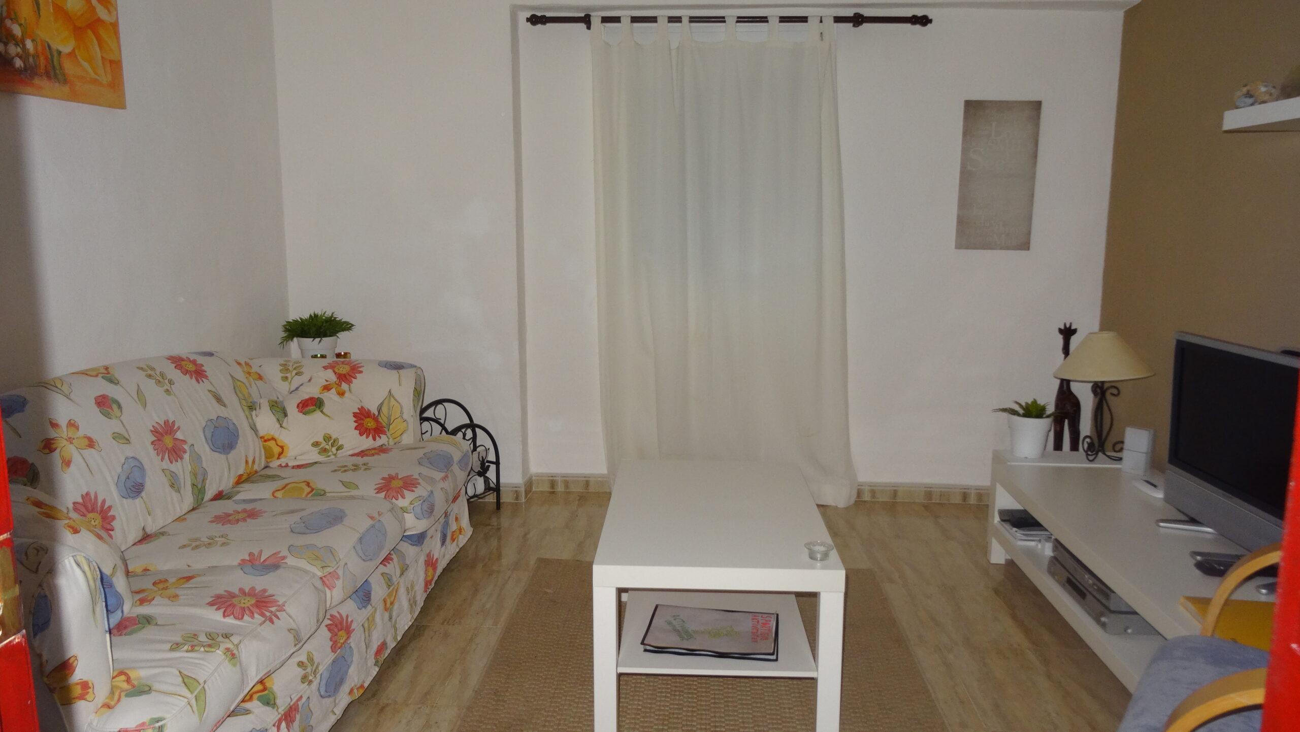 De woonkamer van Casa Amigo