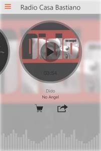 App RCB Android Ascolta
