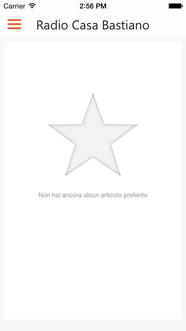 App RCB iOS PREFERITI